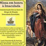 Missa em honra à Imaculada