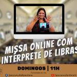 Missa online com Libras