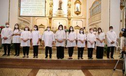 Novos Ministros da Eucaristia